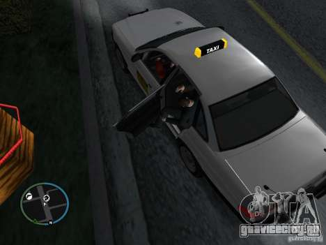 Такси мод для GTA San Andreas