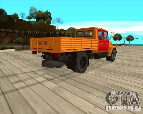 ГАЗ 3309 Аварийка для GTA San Andreas вид сзади слева