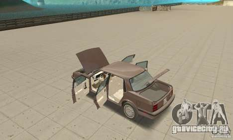 Oldsmobile Cutlass Ciera 1993 для GTA San Andreas вид сбоку
