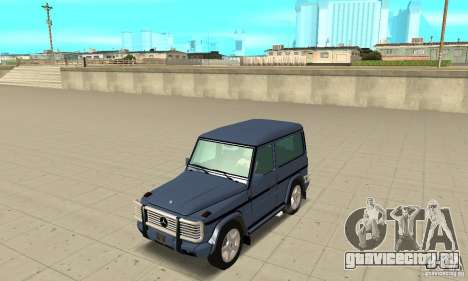 Mercedes-Benz G500 1999 Short [with kangoo v2] для GTA San Andreas