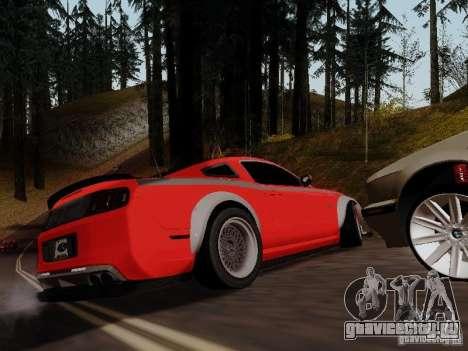 Ford Mustang RTR Spec 3 для GTA San Andreas вид слева