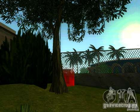 Яблоня для GTA San Andreas четвёртый скриншот