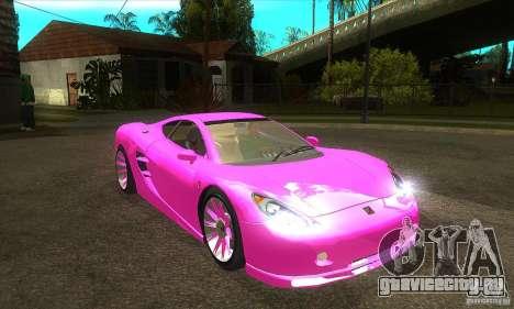 Ascari KZ-1 для GTA San Andreas вид сзади