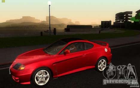 Hyundai Tiburon V6 Coupe 2003 для GTA San Andreas