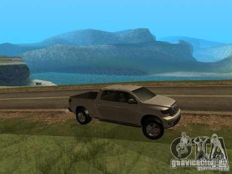 Toyota Tundra 2009 для GTA San Andreas вид справа