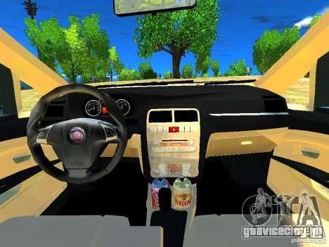 Fiat Linea для GTA 4 вид изнутри