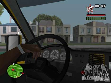 Активная приборная панель для GTA San Andreas четвёртый скриншот