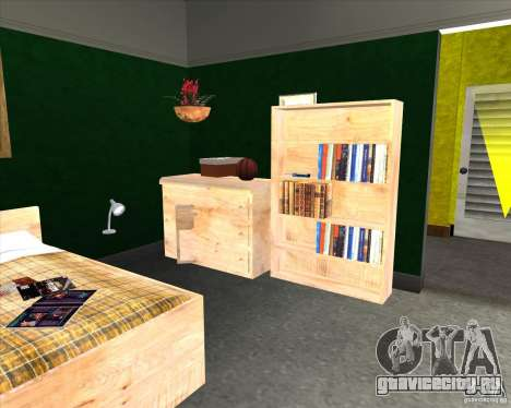 New Interior of CJs House для GTA San Andreas четвёртый скриншот