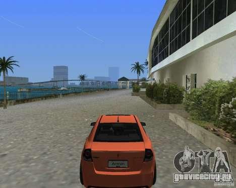 Pontiac G8 GXP для GTA Vice City вид сзади слева