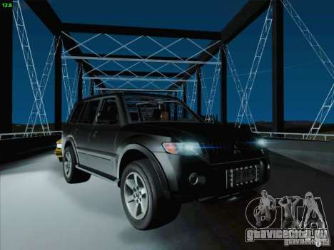 Mitsubishi Montero для GTA San Andreas вид сверху