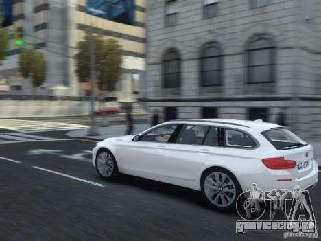 BMW M5 F11 Touring V.2.0 для GTA 4 вид справа