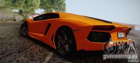 Lamborghini Aventador LP700-4 Final для GTA San Andreas вид снизу