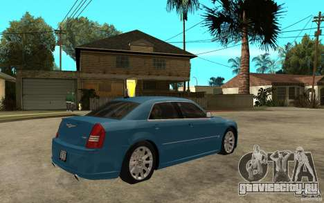 Chrysler 300C 6.1 SRT-8 2007 для GTA San Andreas вид справа