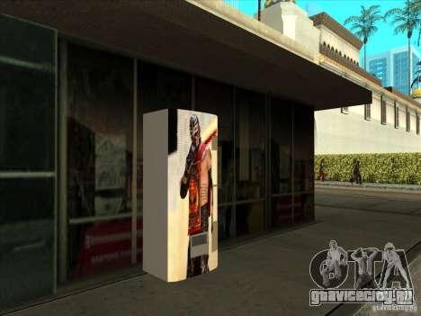 Газировка с Реем Мистерио для GTA San Andreas второй скриншот