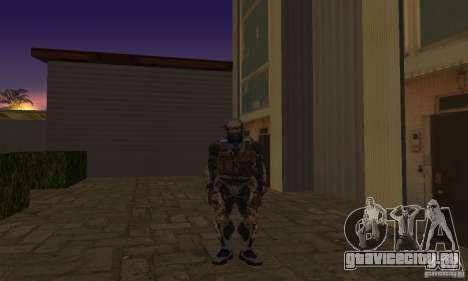 Crysis NanoSuit для GTA San Andreas второй скриншот