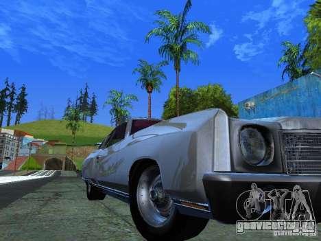 Chevrolet Monte Carlo 1970 для GTA San Andreas вид сзади слева