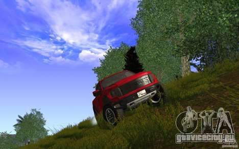 Ford F150 SVT RapTor для GTA San Andreas вид справа