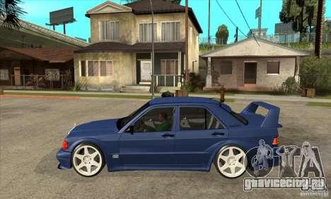 Mercedes-Benz w201 190 2.5-16 Evolution II для GTA San Andreas