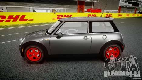 Mini Cooper S для GTA 4 вид изнутри