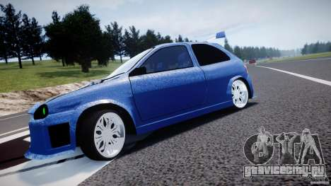 Chevrolet Corsa Extreme Revolution для GTA 4 вид изнутри