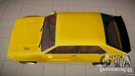 Opel Kadett D GTE Mattig Tuning для GTA San Andreas вид справа
