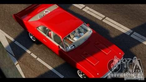 Dodge Demon 1971 для GTA 4 вид слева
