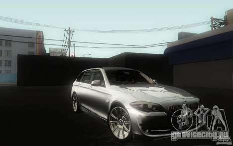 BMW F11 530d Touring для GTA San Andreas вид сбоку
