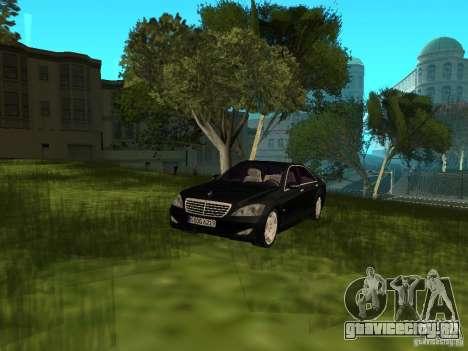 Mercedes Benz S600 для GTA San Andreas