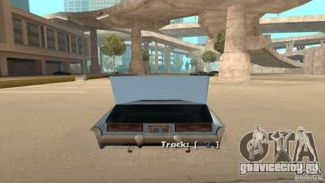 Music car v4 для GTA San Andreas третий скриншот