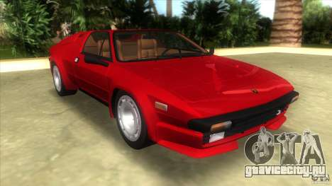 Lamborghini Jalpa P350 1984 для GTA Vice City
