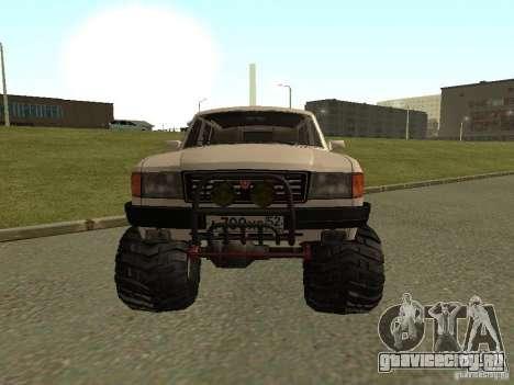 ГАЗ 31022 Волга 4х4 для GTA San Andreas вид слева