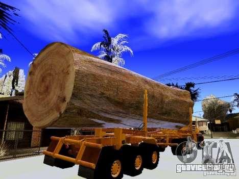 Hayes EQ 142 для GTA San Andreas вид сбоку