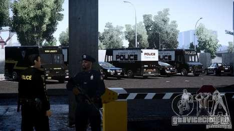 Boxville Police для GTA 4 вид изнутри