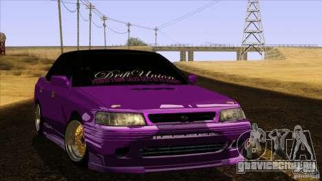 Subaru Legacy Drift Union для GTA San Andreas