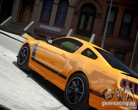 Ford Mustang Boss для GTA 4 вид справа