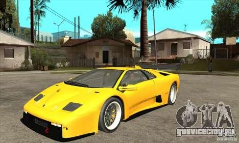Lamborghini Diablo GT-R 1999 для GTA San Andreas