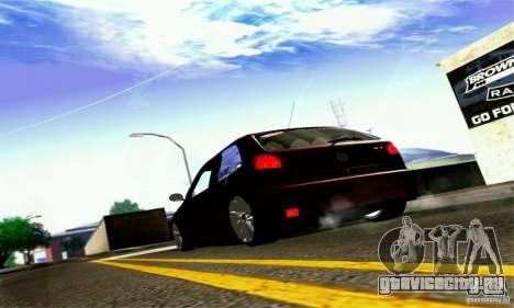 Volkswagen GOL G2 Tuning для GTA San Andreas вид сзади