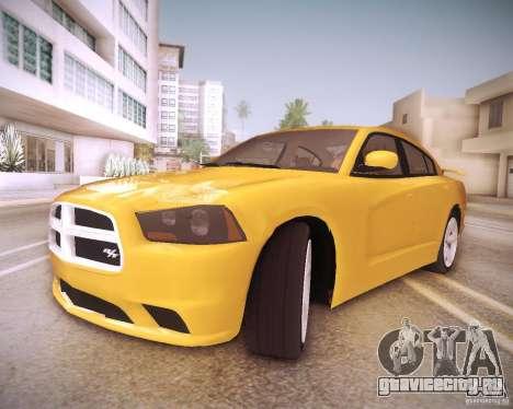 Dodge Charger 2011 v.2.0 для GTA San Andreas салон