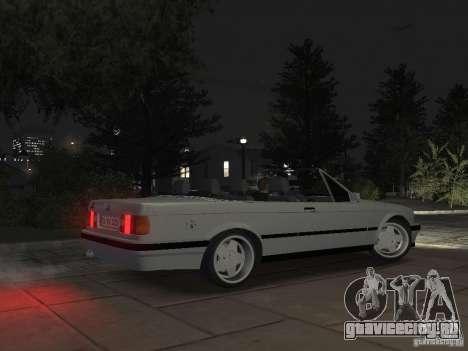 BMW 3-er E30 для GTA 4 вид изнутри
