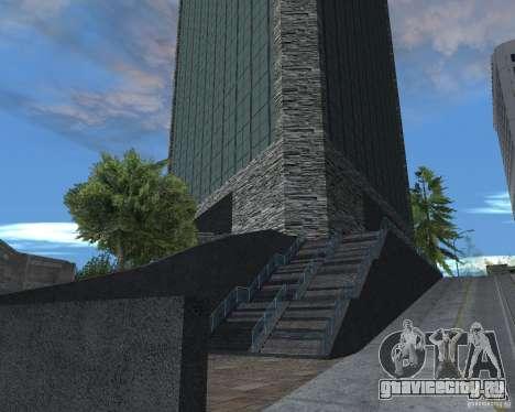 Новые текстуры небоскрёба для GTA San Andreas третий скриншот