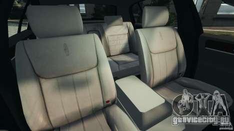 Lincoln Town Car 2006 v1.0 для GTA 4 вид изнутри