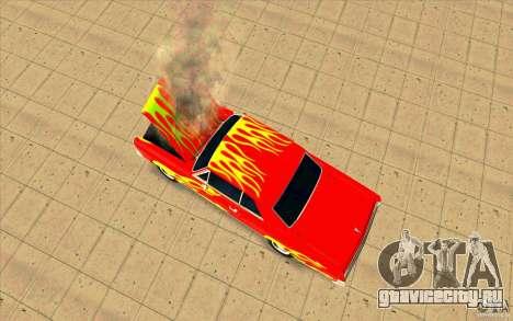 Dead car для GTA San Andreas третий скриншот