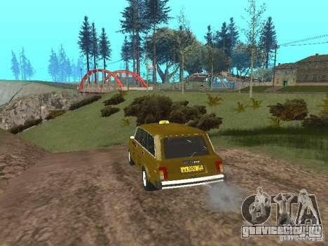 ВАЗ 2104 Такси для GTA San Andreas вид справа