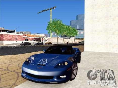 Chevrolet Corvette Grand Sport Cabrio 2010 для GTA San Andreas