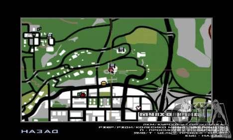 Воздушная Война для GTA San Andreas шестой скриншот