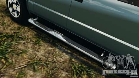 Chevrolet S-10 Colinas Cabine Dupla для GTA 4 салон