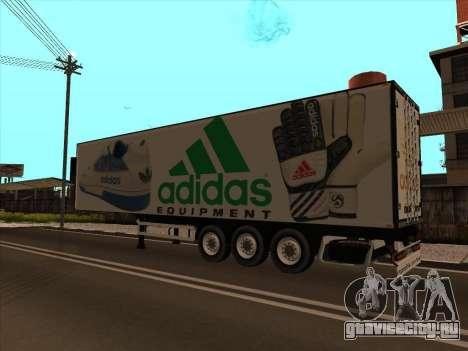 Прицеп Adidas для GTA San Andreas