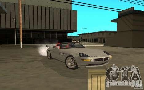 BMW Z8 для GTA San Andreas вид сзади слева