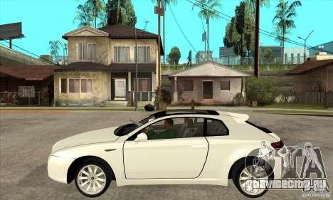 Alfa Romeo Brera для GTA San Andreas вид слева