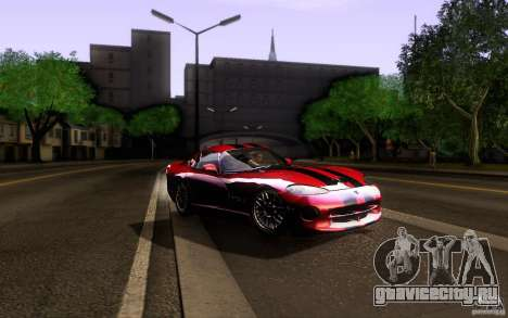 Dodge Viper GTS Coupe TT Black Revel для GTA San Andreas